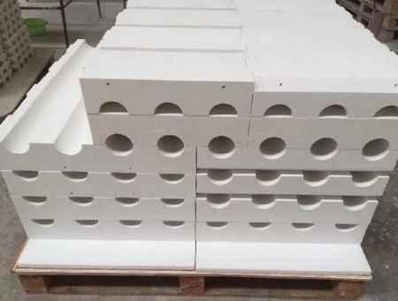 辽宁玻璃窑辊道密封砖生产